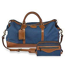 Tusting Canvas Duffel and Travel Kit