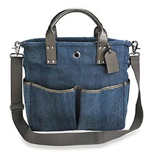 Bloomsbury Bookbag - Denim/Pewter