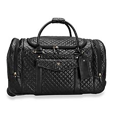 VIP Quilted Travel Duffel
