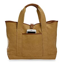 The Shores Canvas Tote