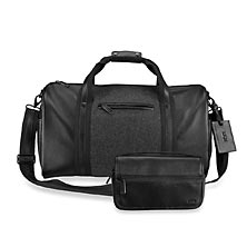 Varsity Duffel Bag with Travel Kit