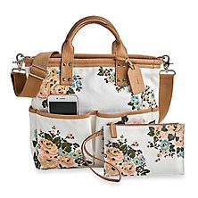 Blossom Tote and Pouch