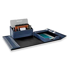 Bombé Quilted Three-Piece Desk Set