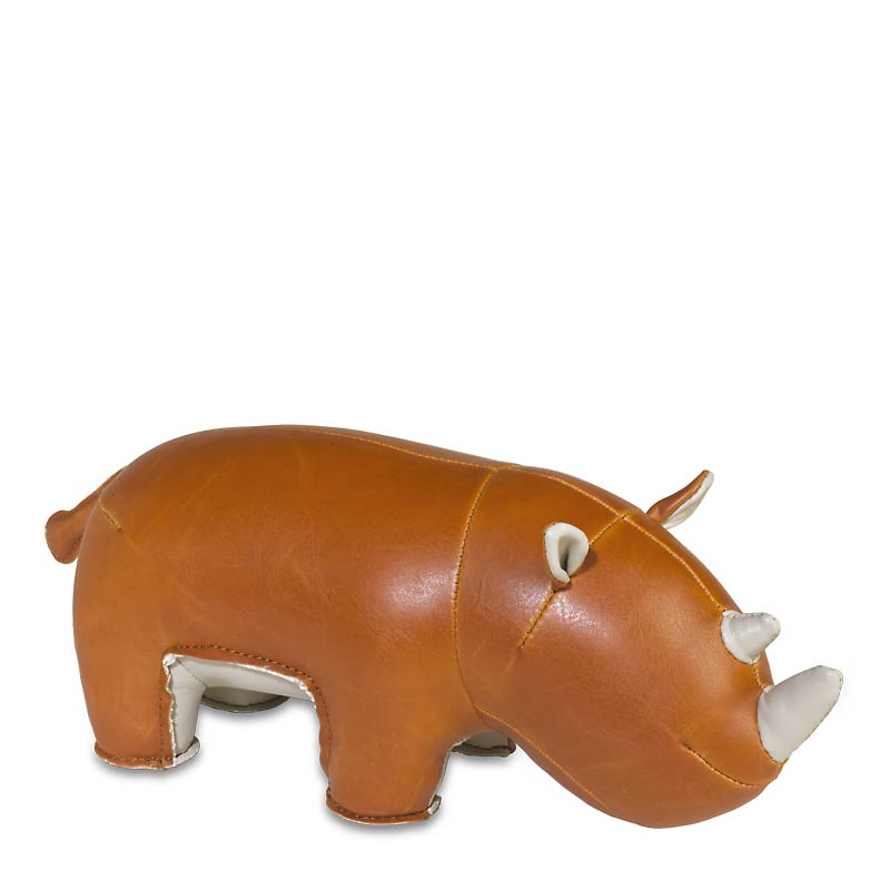 Zoo Stories Rhinoceros Bookend