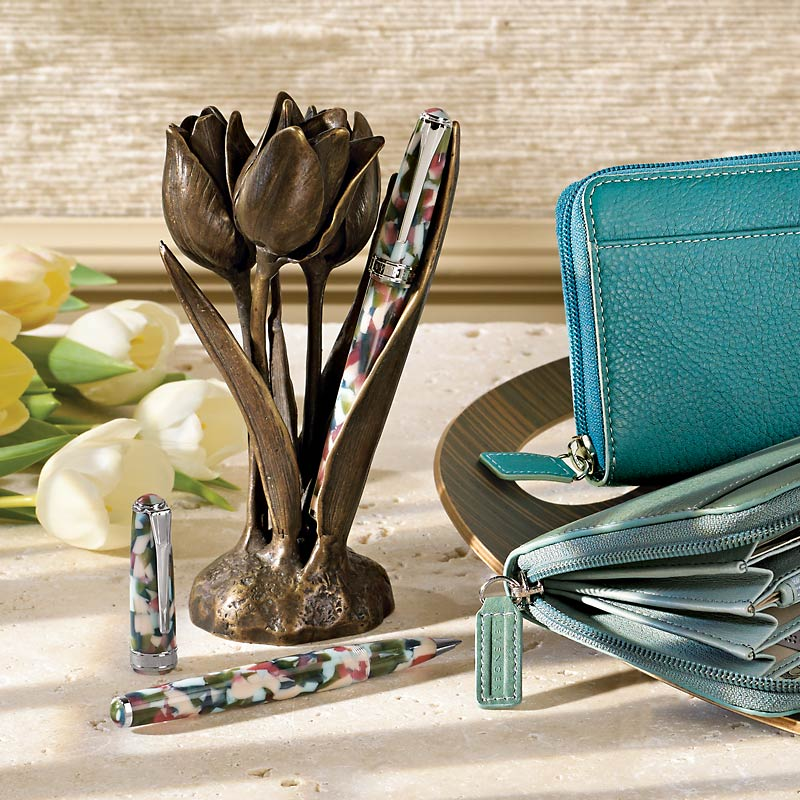 Redouté Tulip Pen Holder
