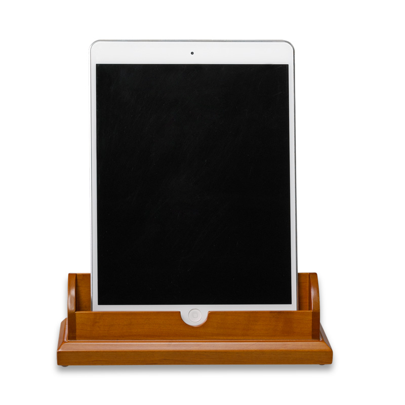 Cubi Tech Stand - Tablet Natural Cherry