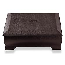 Bomber Jacket Keepsake Box, Mocha