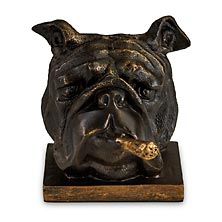 Cigar Bulldog Bookends (set of 2)