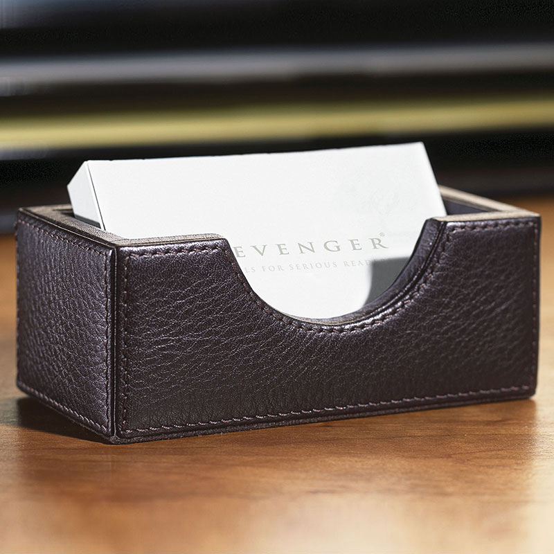 Bomber Jacket Business Card Holder