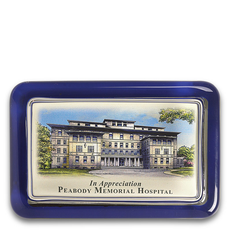 Personalized College Paperweight