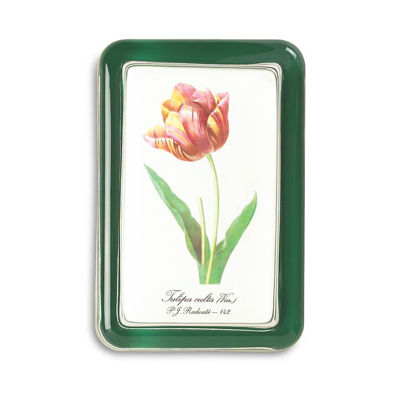 Redouté Paperweight (rose or tulip)