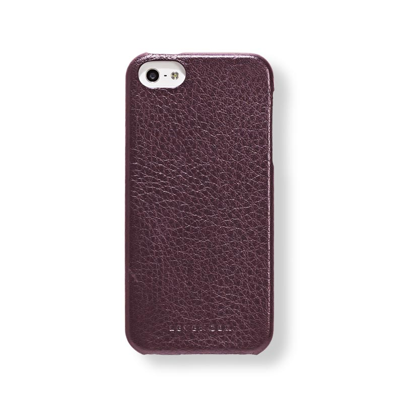 Bomber Jacket iPhone® 5 Case, Oxblood