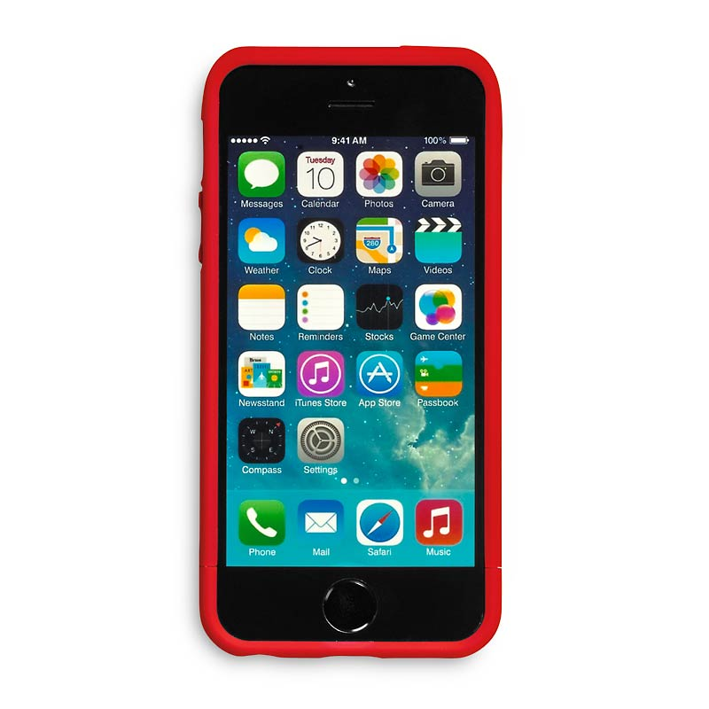 Stash iPhone® 5 Case, Red