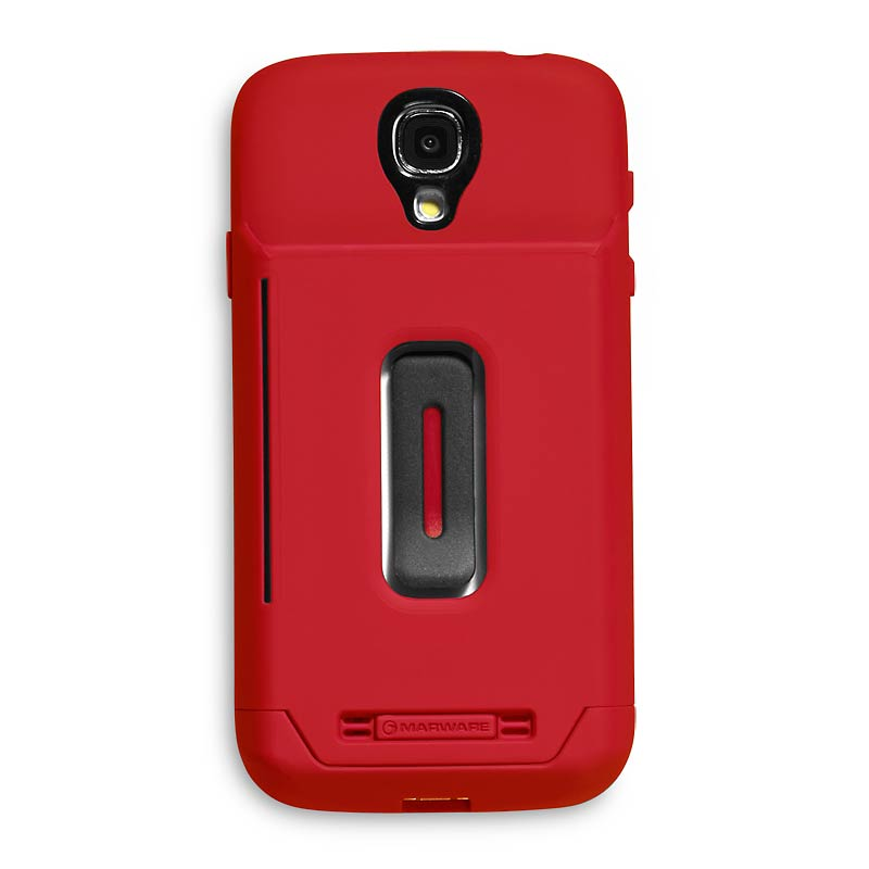 Stash Samsung Galaxy S@4 Case , Red