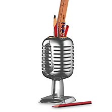 Microphone Pencil Holder