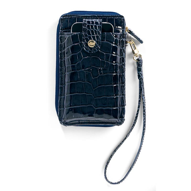 Abas for Levenger Phone Wallet, Navy