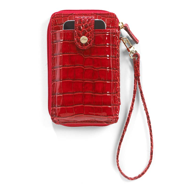 Abas for Levenger Phone Wallet, Red