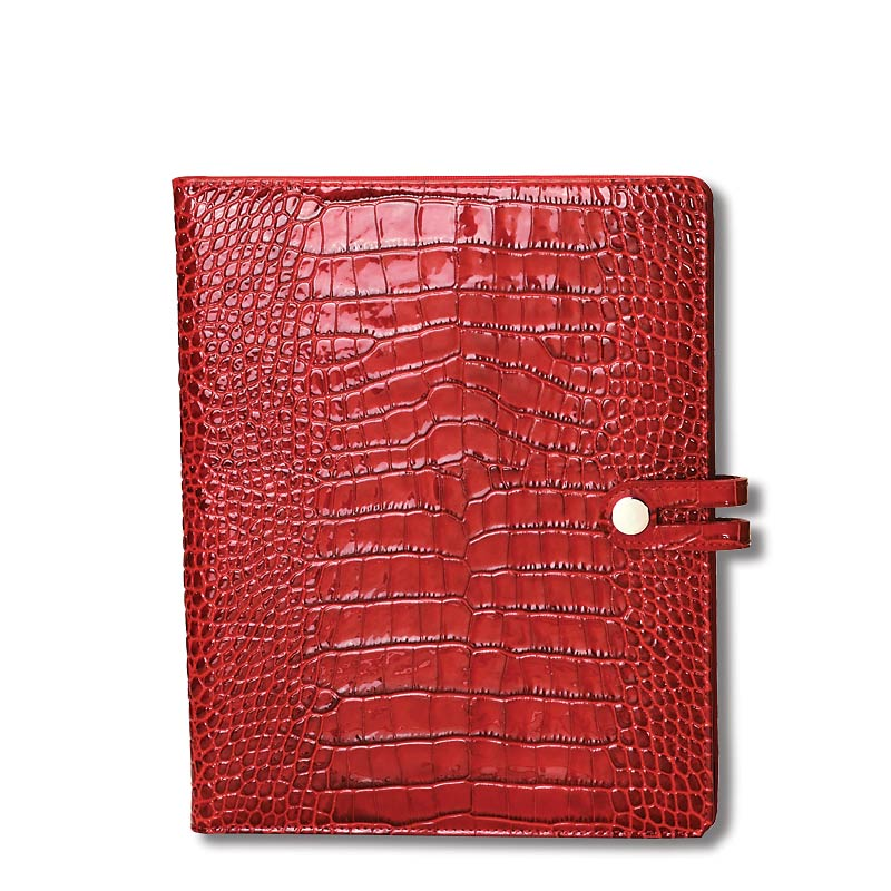 Abas for Levenger Convertible iPad Case, Red