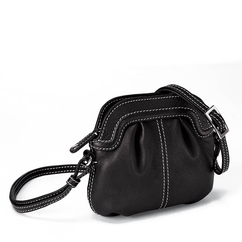 Carezza On-the-Town Pouch, Black
