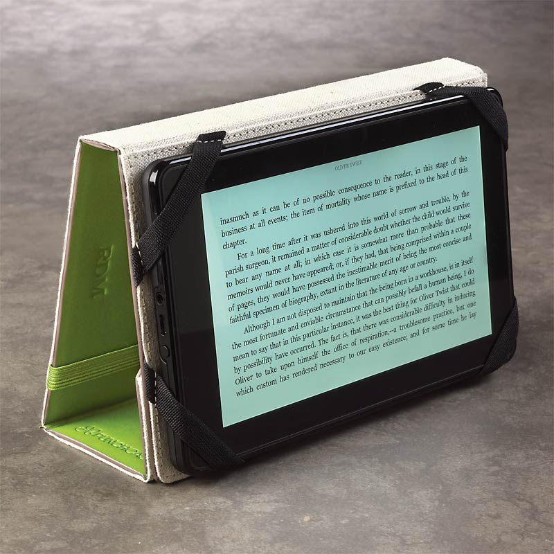 Levenger Kindle Fire Stand, Green