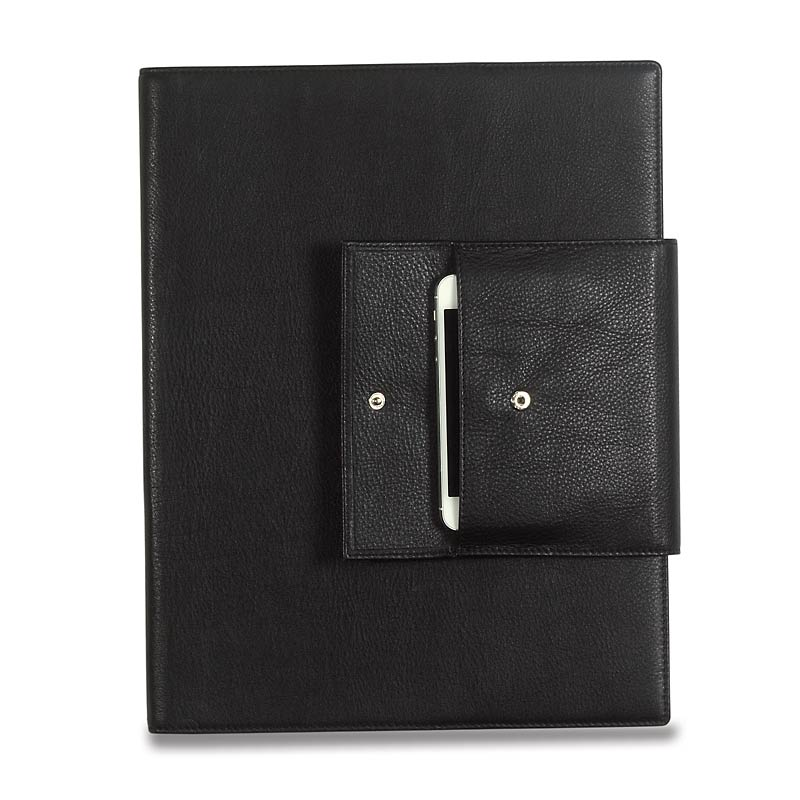 Carezza Phone Pocket Folio, Black