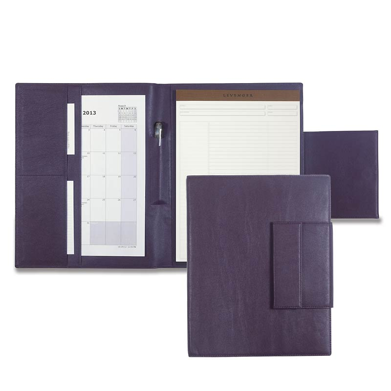 Carezza Phone Pocket Folio, Eggplant
