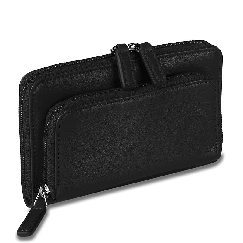 Pocquettes™ iPhone/Earbud Case, Black