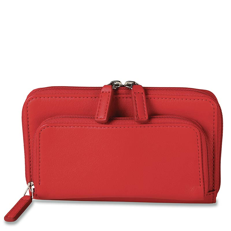 Pocquettes™ iPhone/Earbud Case, Red