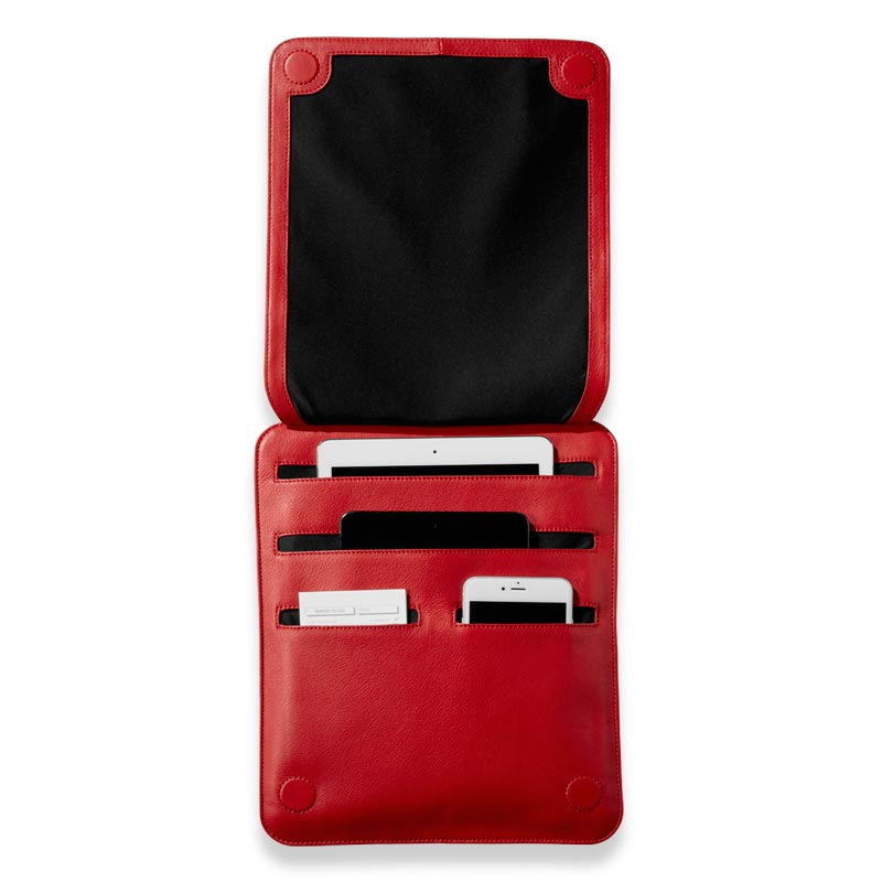 Tablet Soft Carrier, Red
