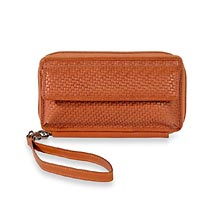 Tuscany Phone Wallet, Sienna