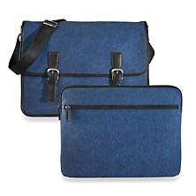 Commuter Messenger & Laptop Sleeve, Dark Blue