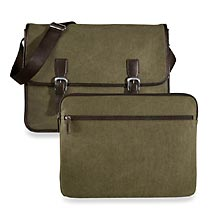 Commuter Messenger & Laptop Sleeve, Green