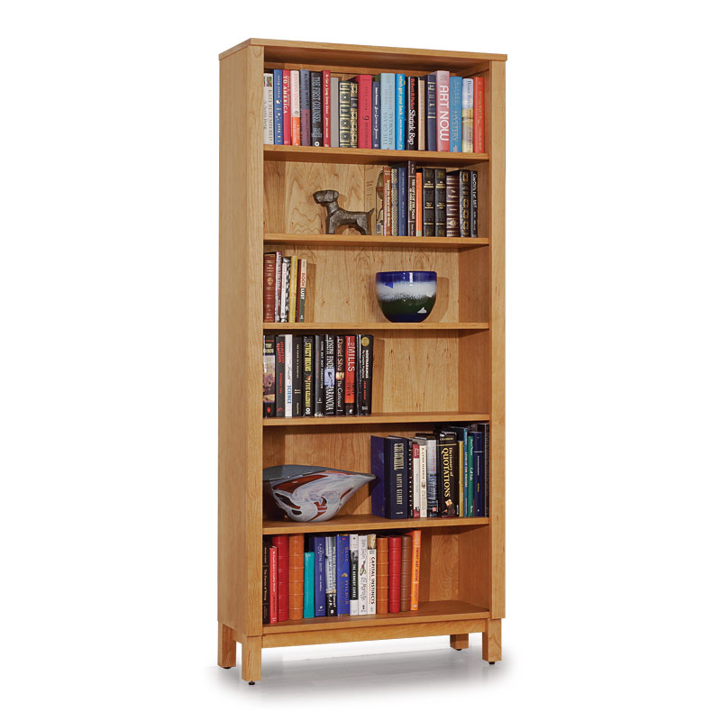 """Sylvan 72"""" Bookcase, Oiled Rubbed Cherry"""