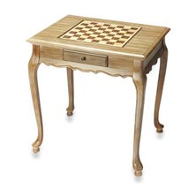Bernie Game Table - Driftwood
