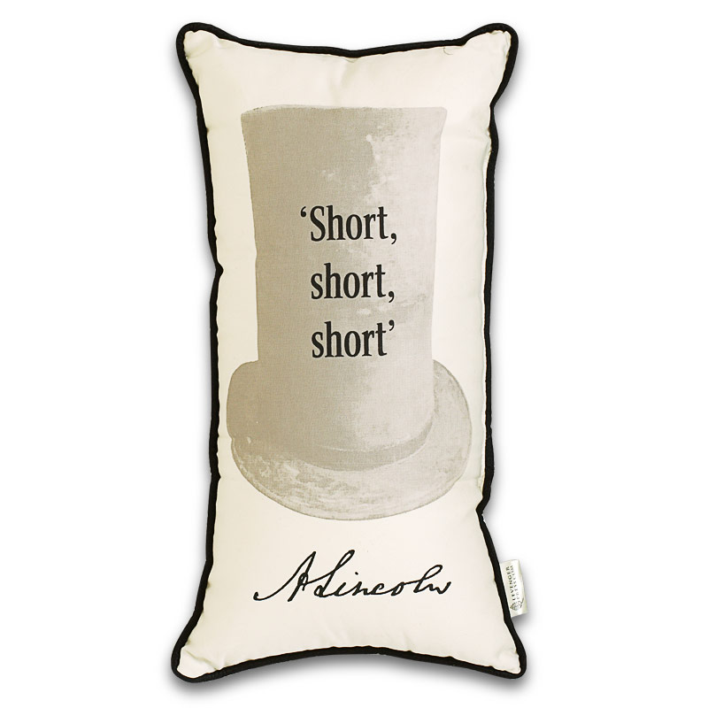 Lincoln Quiz Pillow