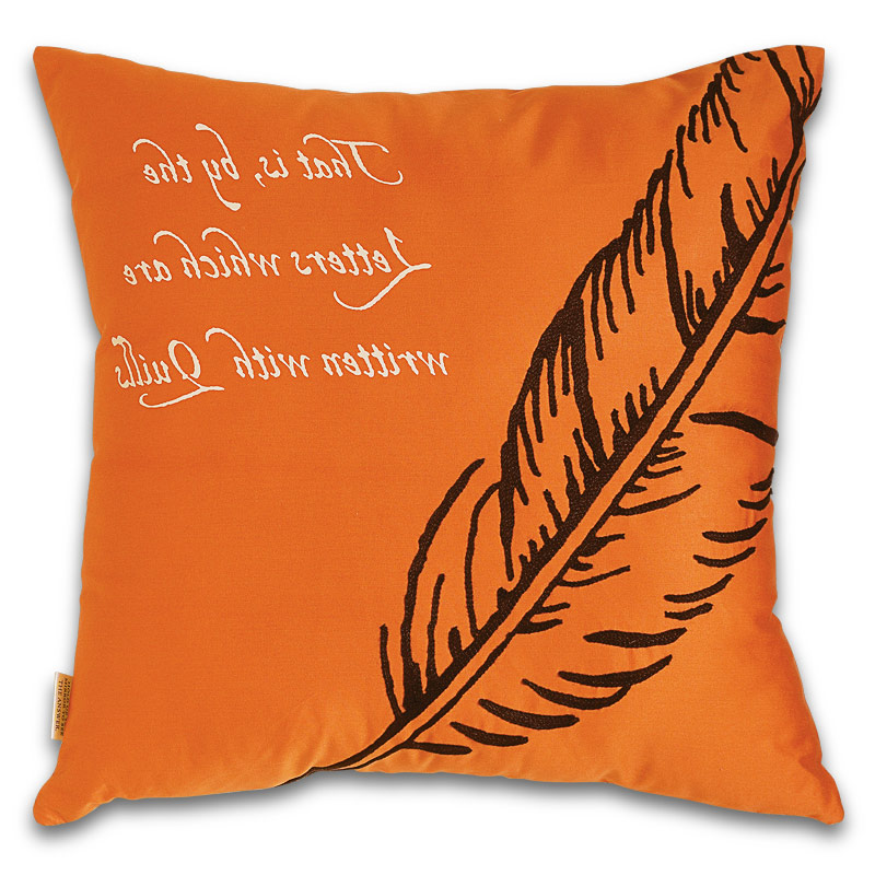 Leonardo Riddle Pillow