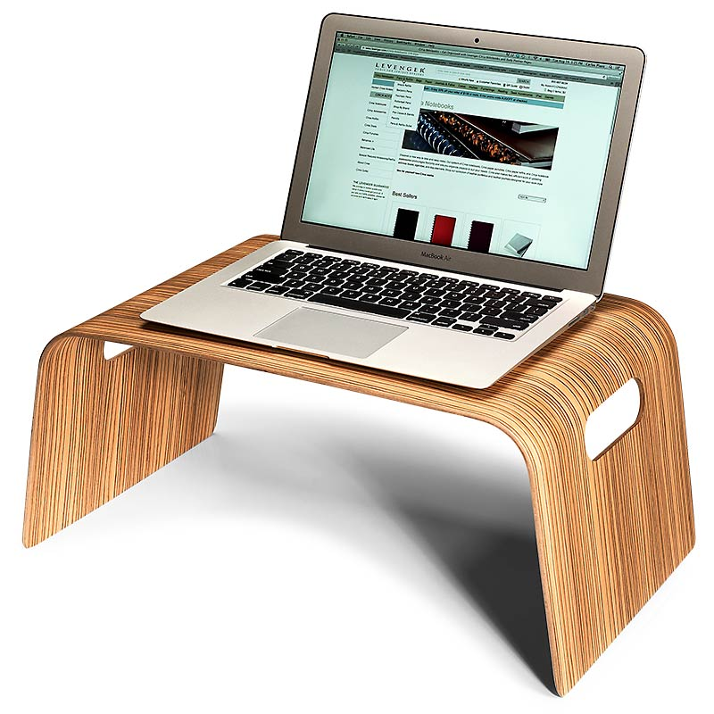 Bed 'n' Breakfast Lap Desk, Zebrano
