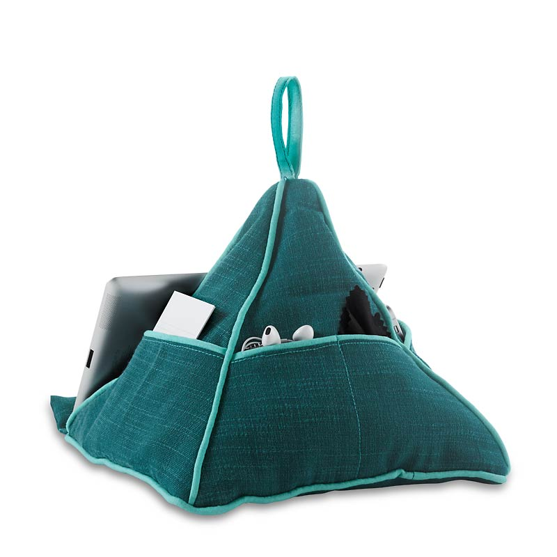 Two-Tone Pyramid Pillow