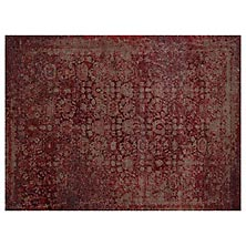 Viera Rug - Red/Taupe