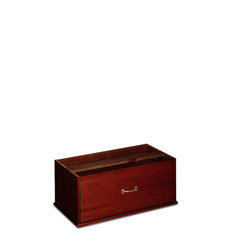 Stackable Lateral Drawer, Dark Cherry