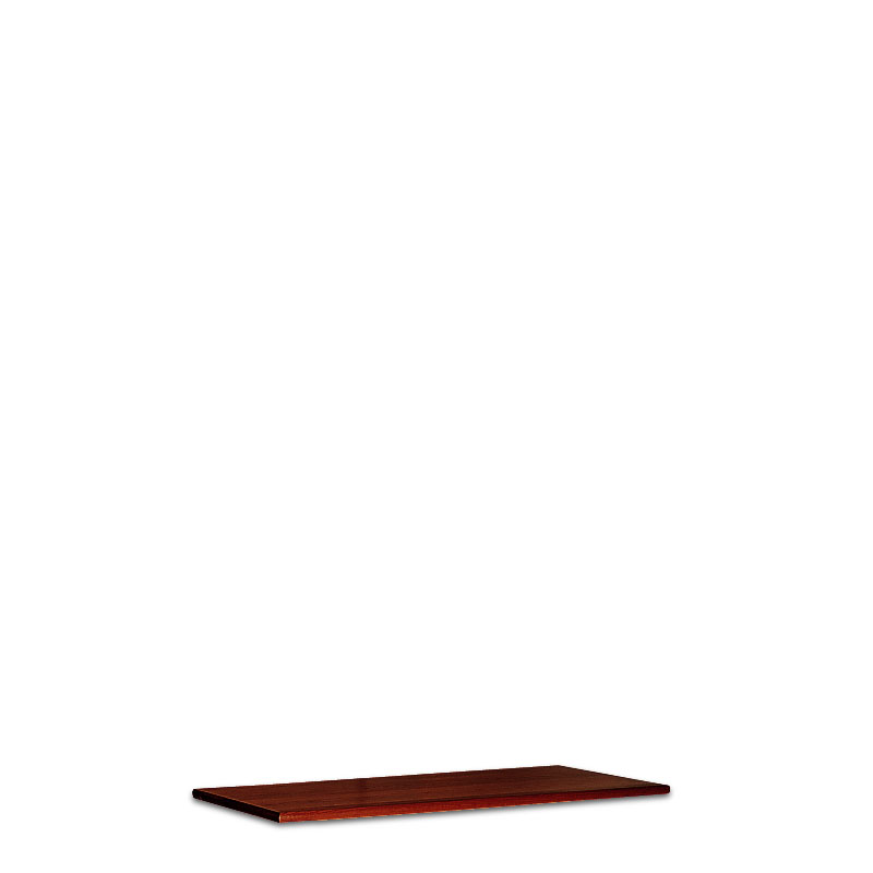 Stackable Lateral Top, Dark Cherry