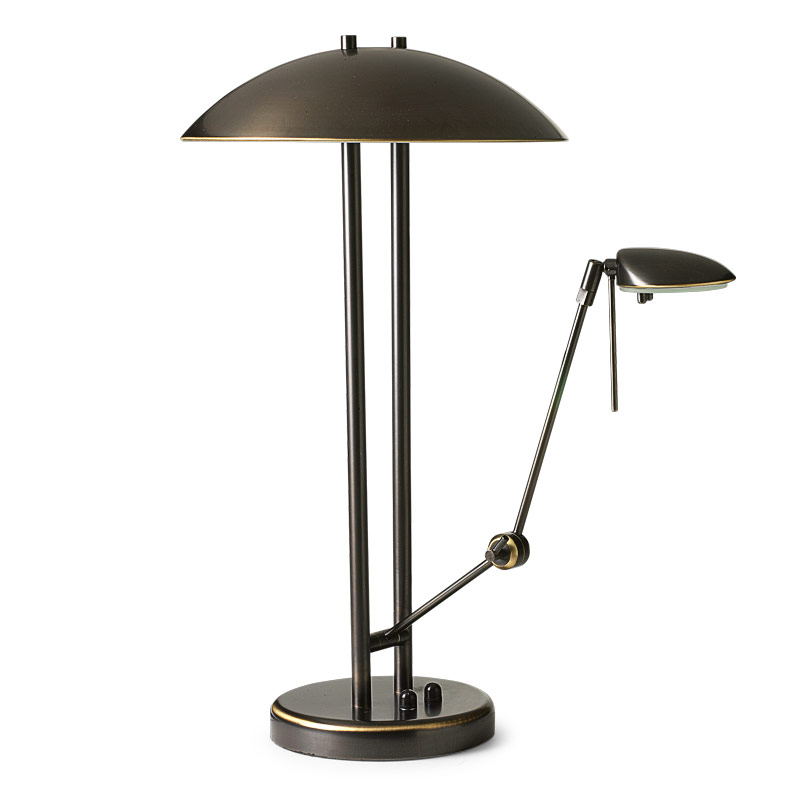 Multitask Lamp, Brushed Bronze