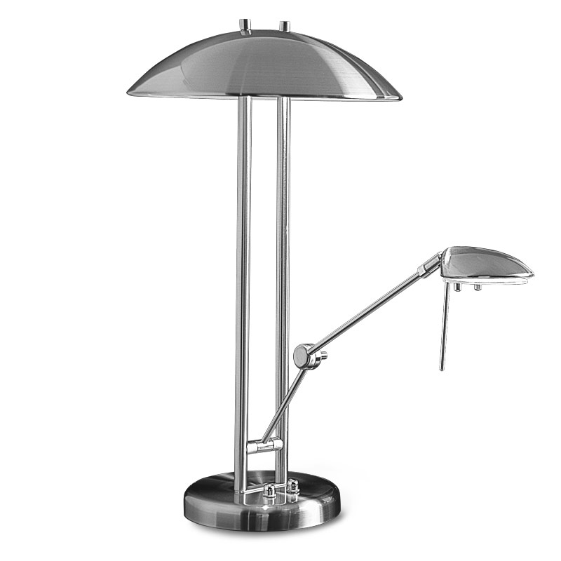 Multitask Lamp, Brushed Nickel