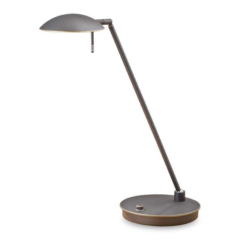 Bernie Turbo LED Table Lamp, Hand-Finished Bronze