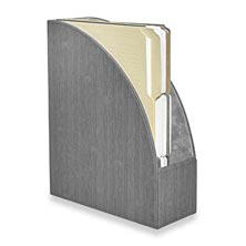 Sanibel File Holder - Charcoal