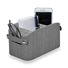 Sanibel Organization Basket - Charcoal