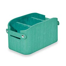 Sanibel Organization Basket - Seafoam
