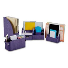 Sanibel Desk Set (set of 4) - Violet