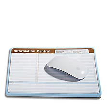 Conquer the Chaos-Information Centrao Mouse Pad