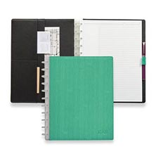 Sanibel Circa® Foldover Notebook - Seafoam